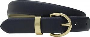 mossimo Womens Textured Belt with Gold Buckle
