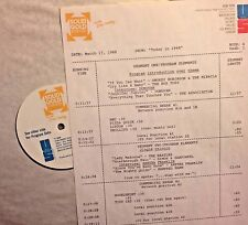RADIO SHOW: 3/17/88 TODAY 1968!  DONOVAN, OTIS REDDING, GARY PUCKETT, BOX TOPS