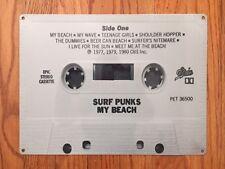 Surf Punks My Beach California Punk Rock Cassette Tape Vintage Poster Metal Sign