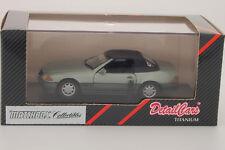 Matchbox DetailCars Mercedes 320 SL Soft Top  ART232 1:43 Titanium Series