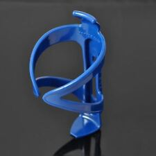 "Blue Premium Hard Durable Plastic Bike Bottle Holder For 2.75"" Wide Bottles"