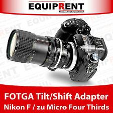 FOTGA Tilt/Shift passiver Objektivadapter Nikon F auf Micro Four Thirds (EQY84)