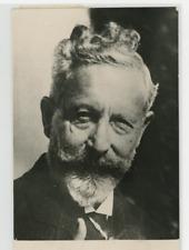 Portrait de Guillaume II d'Allemagne. Vintage silver print Tirage argenti