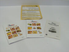 Nuwave Pro Infrared Oven Owners Manuals Cook Books & Recipes Bundle