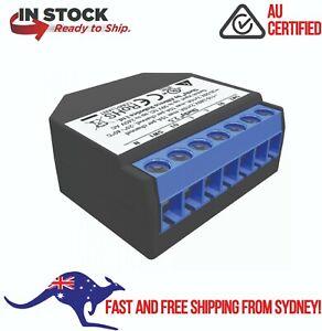 Shelly 2.5 Double Relay Switch & Roller Shutter - Australian 12 Month Warranty