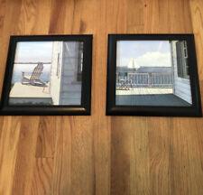 Ocean Framed Picture Set 11 1/2� X 11 1/2�