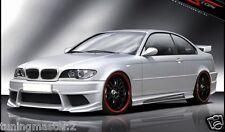 BMW Serie 3 E46 Coupe Cabrio Paraurti Anteriore Tuning Generation V  vetroresina