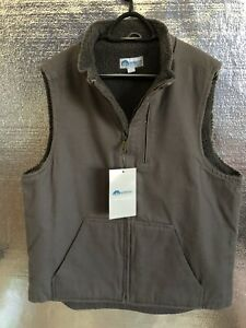 Wasatch Outdoors Men's Sherpa Lined Work Vest New
