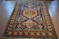 4.5 x  6.5 ft. Persian tribal Caucasian Kazak design from Carmel Estate #PM75