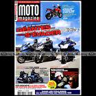 MOTO MAGAZINE N°297 GUZZI 1400 CALIFORNIA HONDA 1800 F6B YAMAHA FJR 1300 GT 2013