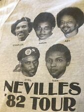 The Neville Brothers vintage 1982 Tour T-shirt
