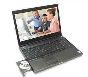 """Dell Precision M4800 Core i7-4800MQ 2.7GHz 16GB 256 SSD Nvidia K1100M Win10 15"""""""