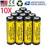 10PCS 14500 3.7V 1200mAH Rechargeable BRC Lithium Li-ion Battery  For Flashlight