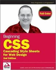 Beginning CSS: Cascading Style Sheets for Web Design by York, Richard