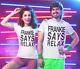 Frankie Says Relax unisex T-SHIRT 80 Fancy Dress 80S t shirt retro t-shirts tee