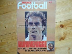 FRANCE FOOTBALL n°812 (30 décembre 1980)