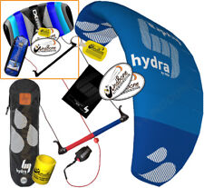 HQ HQ4 Hydra 420 4.2M Water Trainer Kite Kiteboarding Foil +2nd Control Bar Kite