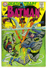 Batman # 207 Dc Comic Book Printed 1968 in VG Condition see scan Cover art by Ir