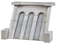 Barrage pour centrale Électrique avec Bâtiment de Maintenance-ho-1/87-faller 130