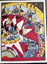 Punch Brothers  Mini Concert Poster Reprint 2013 NYC NY Gig 14x10 Unsigned