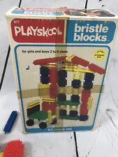 Playskool Bristle Blocks Vintage Girls & Boys 2 to 6 years old