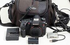 Sony Alpha A77 24.3MP Digital SLR Camera Body SLT-A77V ONLY 2K SHUTTER