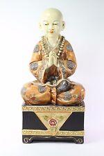 "Feng Shui 15"" Brown Clothing Monk Buddha Mudra of Veneration Home Decor"