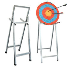 Archery Folding Target Steel Stand Straw Board Bracket Frame Rack Bow Shooting
