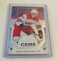B1,980 - 2018-19 Black Diamond Rookie Gems #RGAS Andrei Svechnikov #69/399