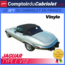 Capote Jaguar Type E V12 cabriolet - Toile vinyle
