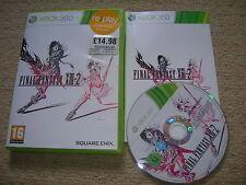 FINAL FANTASY XIII-2  - Rare XBOX 360 Game
