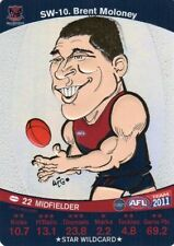 Teamcoach Single AFL & Australian Rules Football Trading Cards