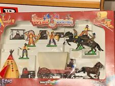 Britains Wild West 7422 Covered Wagon Action Set Boxed rare