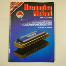 Progressive Harmonica Method For Beginners + CD, William Lee Johnson