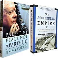 Lot/2 Israel: Palestine Peace Not Apartheid, Carter+Accidental Empire, Gorenberg