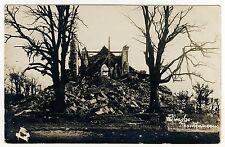 55 Montfaucon d 'Argonne a détruit église/Eglise bombardée * Carte photo 1917