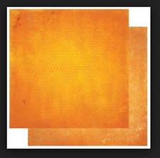 BoBunny 12x12 papel scrapbooking Doble Dot, Naranja Cítricos Vintage X 2 Hojas