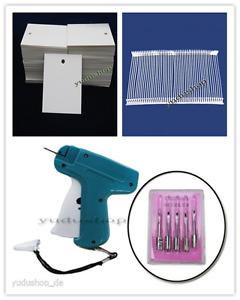 Etikettenpistole Nadeln  Fäden Etiketten Freie Auswahl
