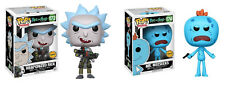 FUNKO POP! ANIMATION: RICK & MORTY - WEAPONIZED RICK & MR. MEESEEKS [2 PC CHASE]