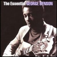 GEORGE BENSON (2 CD) THE ESSENTIAL ~ BREEZIN'~ON BROADWAY ++ JAZZ / GUITAR *NEW*