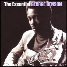 GEORGE BENSON (2 CD) THE ESSENTIAL ~ BREEZIN'~ON BROADWAY ++ JAZZ / GUITAR *NEW*