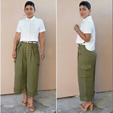 Simplicity Pattern 8889 Shirt Wide Leg Pants Misses Sizes 16 18 20 22 24 Uncut