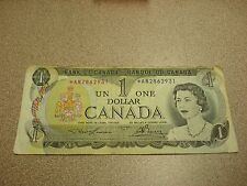 REPLACEMENT - 1973 - Canada $1 bank note - Canadian one dollar bill - *AN2862931