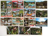 15x TRIBERG Schwarzwald Lot Ansichtskarten ungelaufen AK ab/nach ~1970 Postcards