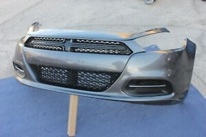 FITS 13-16 DODGE DART FRONT BUMPER GRILL AIR SHUTTER  ASSEMBLY GREY GRAY
