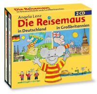 ANGELA LENZ - DIE REISEMAUS IN DEUTSCHLAND UND GROßBRITANIEN  2 CD NEW