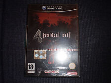 Nintendo Gamecube Resident Evil 4 PAL ITA nuovo sigillato red strip leggi bene