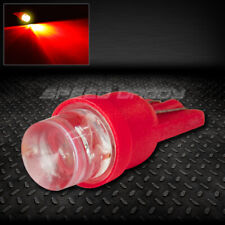8MM ROUND LED T10 194 168 501 W5W RED AUTO INTERIOR DOME LIGHT BULB/LAMP/BULBS
