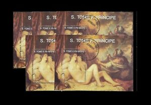 St.Tome & Principe. 5 Souvenir sheets. 500 birthday of Titian (BI#38/190624)