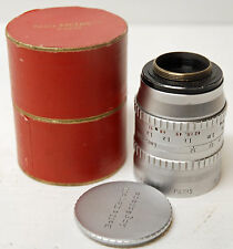 "Objectif  ANGENIEUX - MOUNT "" C"" - 16  mm - F 75 mm .1:2.5 - TBE - N°1215427"
